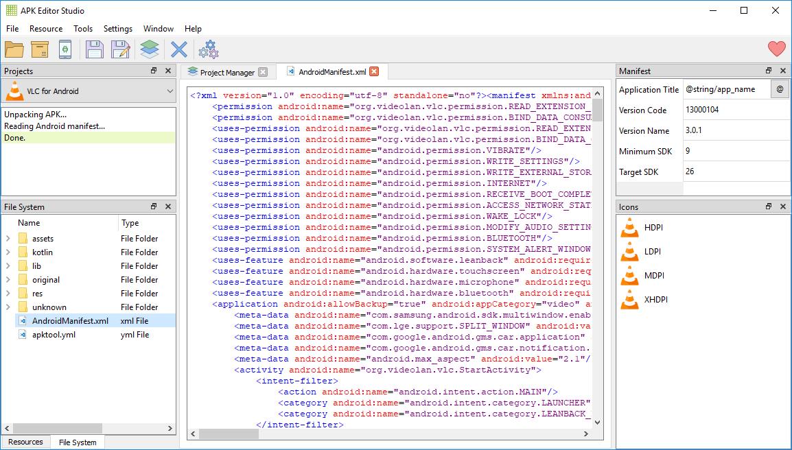 apk editor pro на пк