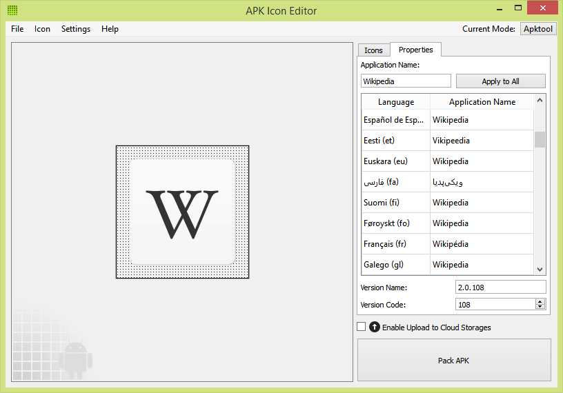 Free APK Editor for PC and Mac - APK Icon Editor